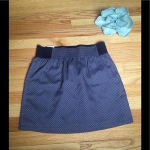 Gap Navy Floral Mini Skirt NWT sz Small w/ Pockets